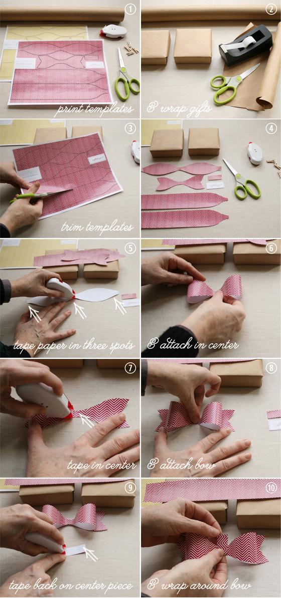 Paper Bows Tutorial