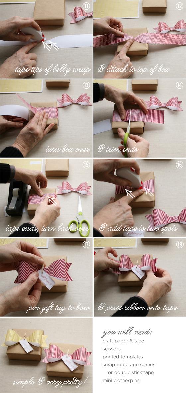 DIY paper ribbon tutorial
