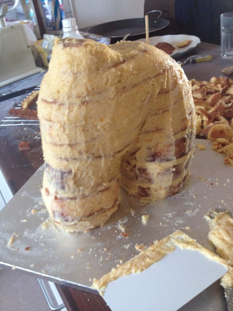 آموزش تزیین کیک به شکل سر اسب - تزیین کیک تولد - تزیین کیک عروسی