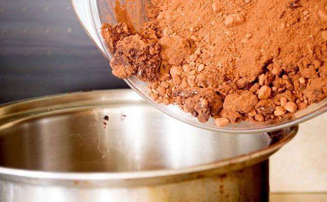 طرز تهیه شکلات تخته ای خانگی - مجله تصویر زندگی