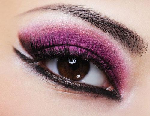 سایه چشم - میکاپ چشم -مدل آرایش چشم