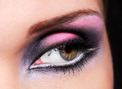 سایه چشم - میکاپ چشم - آرایش چشم