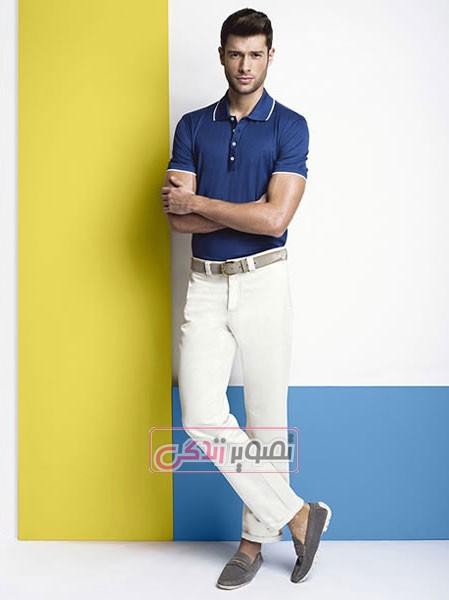 مدل های شیک و زیبای لباس مردانه 2015 برند florentino- مدل تی شرت و شلوار مردانه