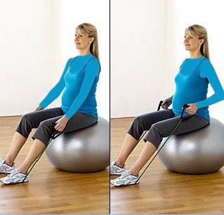 حرکات ورزشی برای دوران بارداری - تمرینات ورزشی ویژه بارداری - نرمش های مخصوص دوران بارداری