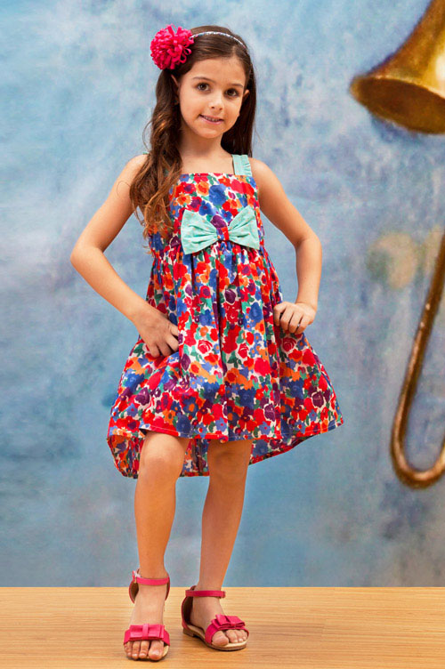 زیباترین مدل های پیراهن دخترانه - مدل لباس بچگانه - مدل لباس دخترانه بهار و تابستان