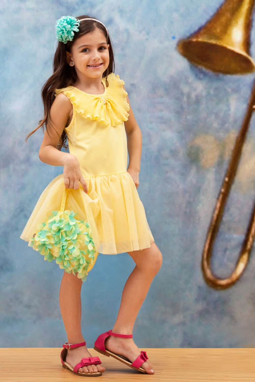زیباترین مدل های پیراهن دخترانه - مدل لباس بچگانه