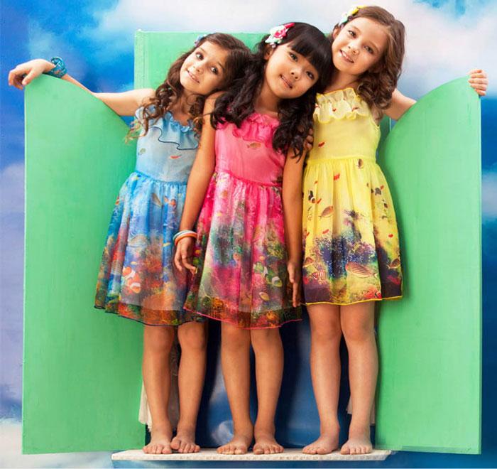 زیباترین مدل های پیراهن دخترانه - مدل لباس بچگانه - مدل لیاس دخترانه بهاری و تابستانی