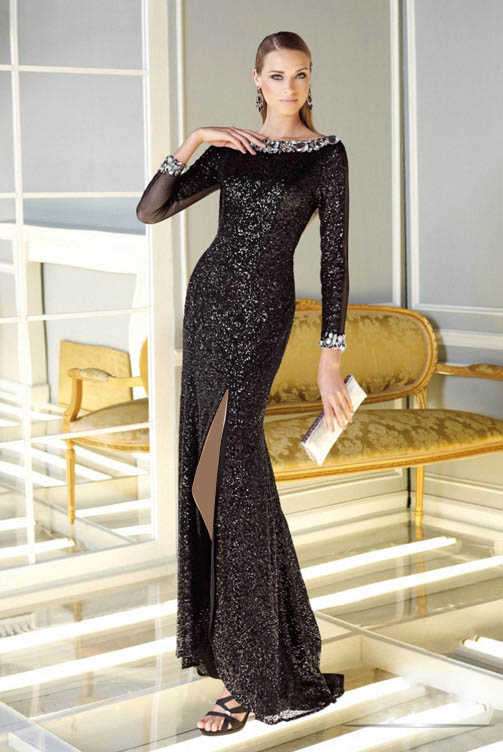 مدل لباس مجلسی - زیباترین مدل پیراهن مجلسی بلند - ماکسی مجلسی