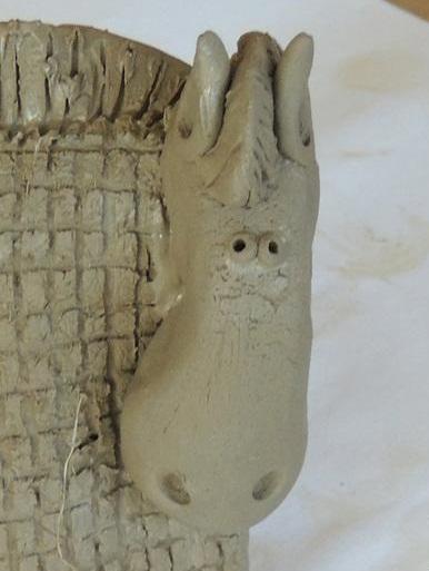 آموزش سفالگری -- مجسمه سازی - تزیینات منزل - ساخت اسب زیبای سفالی- هدیه زیبا و متفاوت