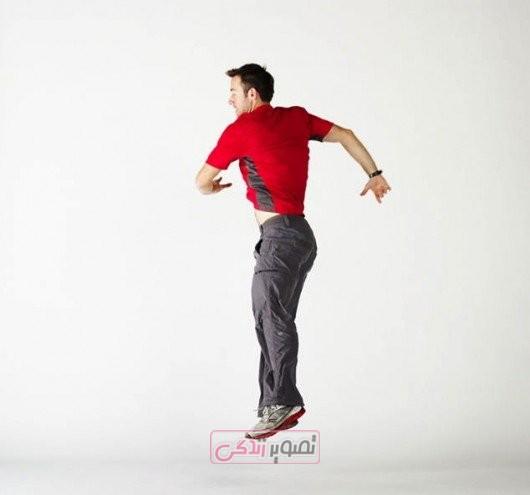 لاغری پهلو و شکم - باریک کردن کمر - حرکات ورزشی