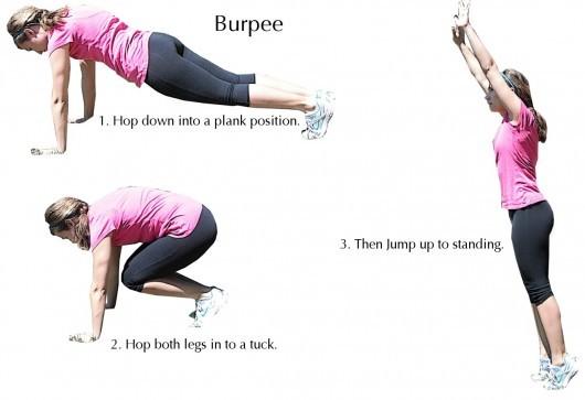 تمرین بارپی - تمرینات ورزشی برای لاغری پهلو و شکم  - باریک شدن کمر