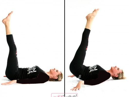 بالا کشیدن عضلات پشت ران - لاغری پهلو و کمر - تمرین ورزشی