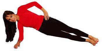 پلانک از بغل - لاغری پهلو و شکم - باریک کردن کمر - حرکات ورزشی