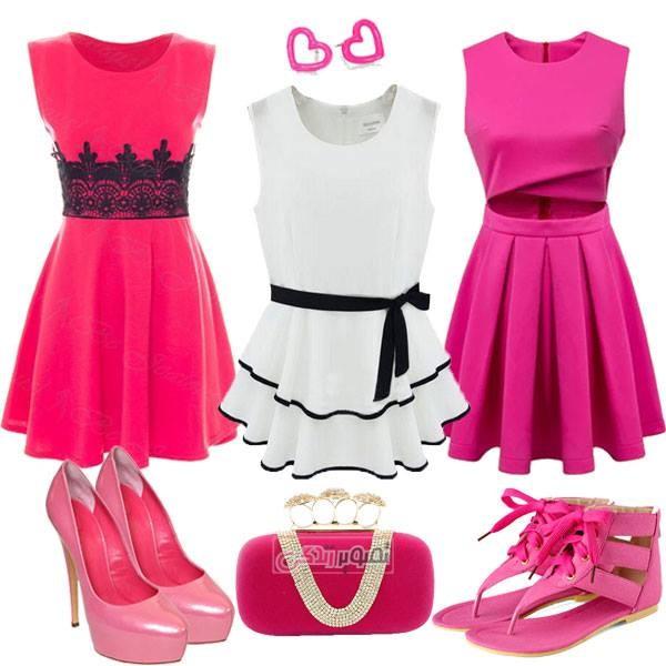ست مجلسی 2015 - لباس مجلسی دخترانه