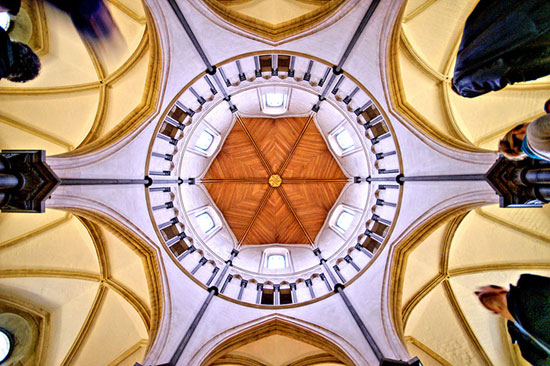 معبد چرچ - زیباترین سقف های جهان - معماری زیبا