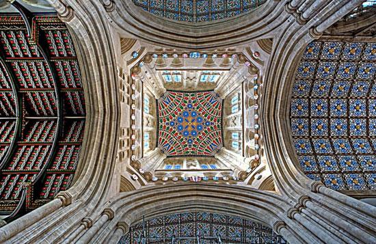 کلیسای سنت ادموندز - زیباترین سقف های جهان - معماری