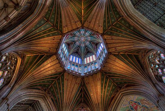 کلیسای الی - زیباترین سقف های جهان - معماری