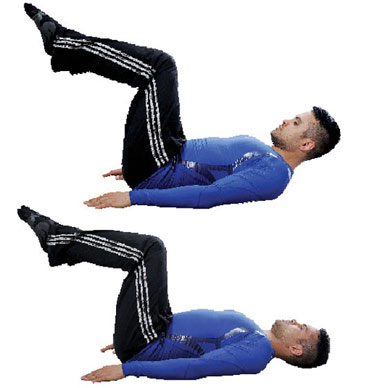 تمرینات ورزشی مخصوص شکم,شکم 6 تکه,آب کردن چربی پهلو