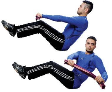 پزشکی و سلامت ورزش  , حركات ورزشی برای سوزاندن چربی شکم و پهلو