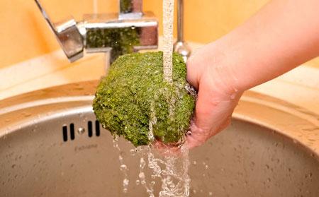 روش شست و شوی کلم بروکلی,روش های صحیح شست و شوی سبزیجات