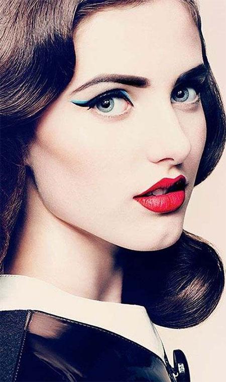 مدل آرایش صورت - میکاپ صورت - مدل آرایش چهره جدید