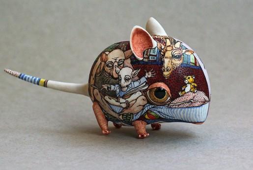 مجسمه چینی - آثار هنری - هنرمند اوکراینی - ظروف چینی