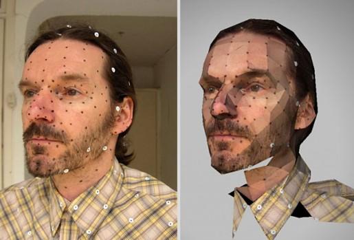 تصاویر دیدنی عکس و کلیپ  , پرتره های کاغذی سه بعدی