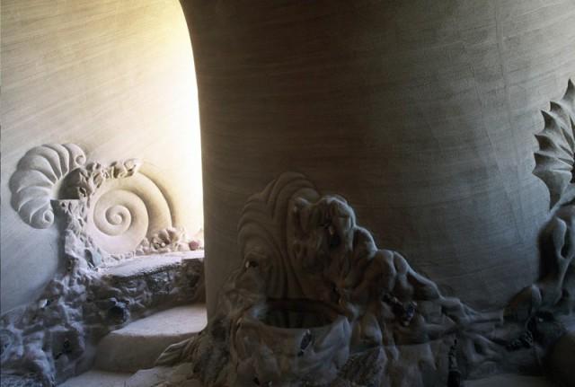غار زیبای دست ساز اثر Ra Paulette هنرمند آمریکایی