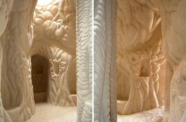 غار دست ساز - غار شگفت انگیز در صحرای نیومکزیکو