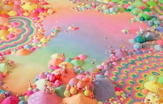 شیرین ترین سرزمین عجایب دنیا که دل هر کسی را آب می کند!