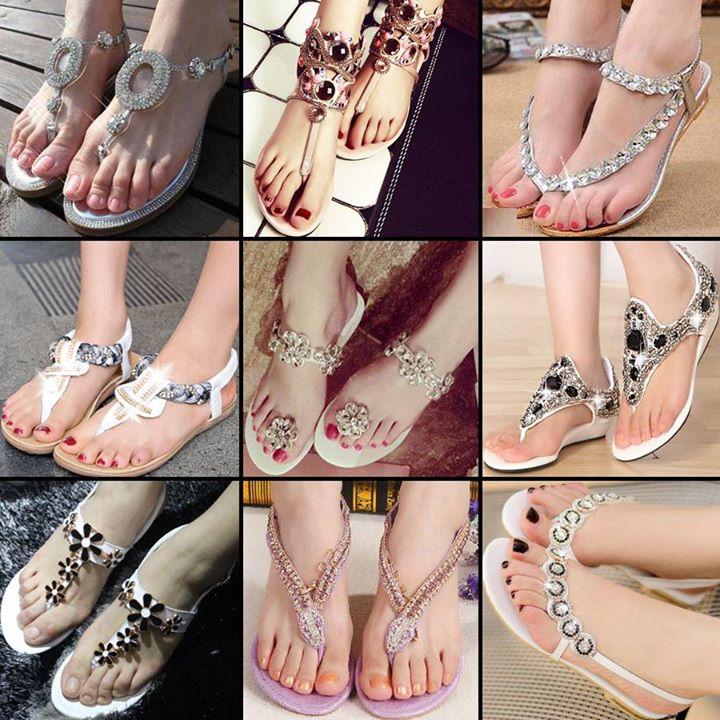 مدل صندل و کفش تابستانی (1) - مجله تصویر زندگیمدل جدید صندل - صندل مجلسی - مدل کفش تابستانی