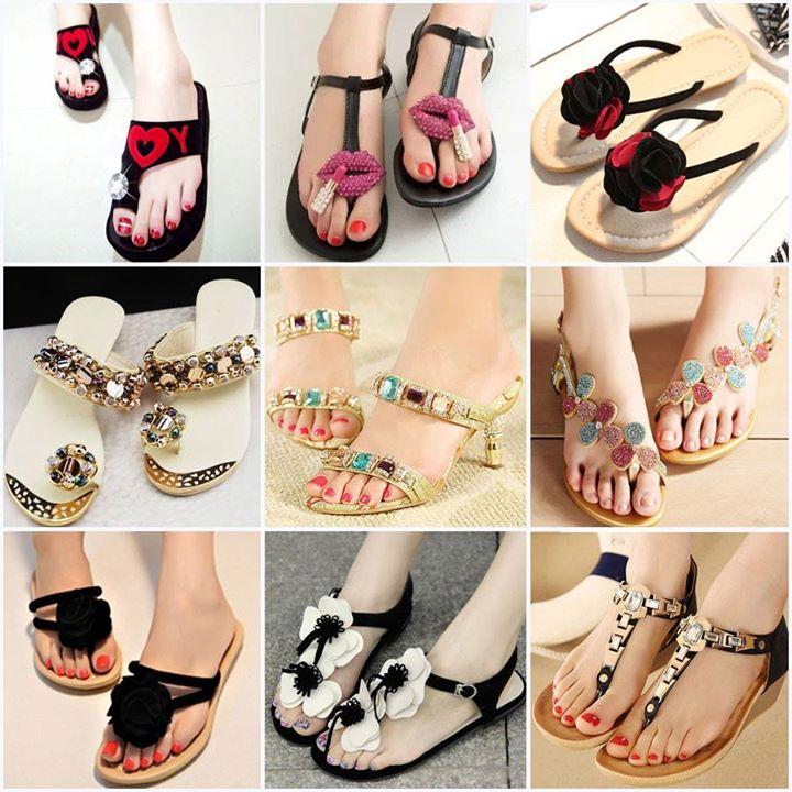 مدل جدید صندل دخترانه - صندل مجلسی - مدل کفش تابستانی