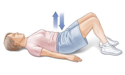 تمرینات ورزشی,ورزشهای شکم,کوچک کردن شکم بعد از زایمان
