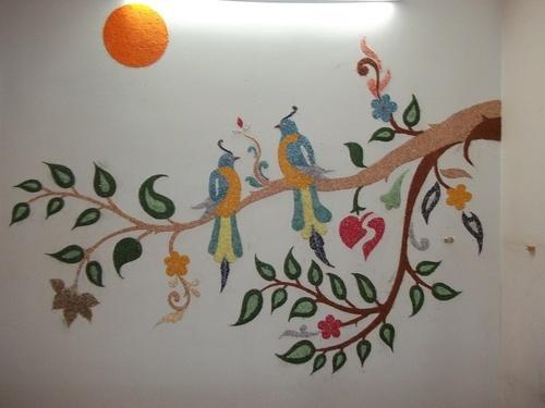 آموزش تزیین پوشش دیواری بلکا - تزیین دیوار