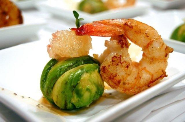 تمپورای میگو - غذاهای دریایی - پیش غذای مجلسی