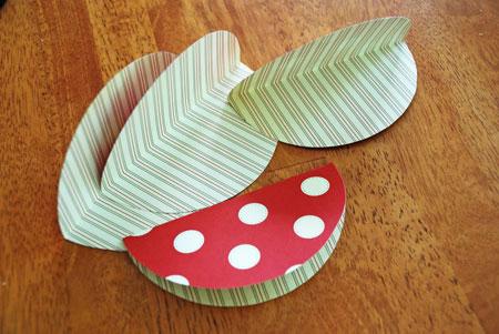 آموزش تصویری ساخت پاکت,درست کردن پاکت کادوئی