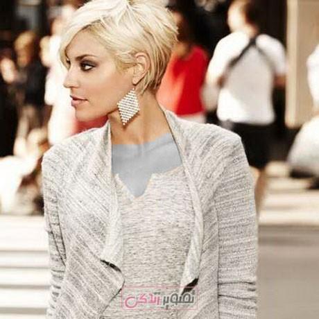 آرایش و زیبایی مدل و آرایش مو  , مدل موی کوتاه دخترانه فشن (2)