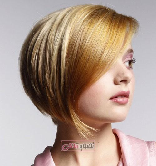 جدیدترین مدل موی زنانه - مدب موی کوتاه دخترانه - موی فشن