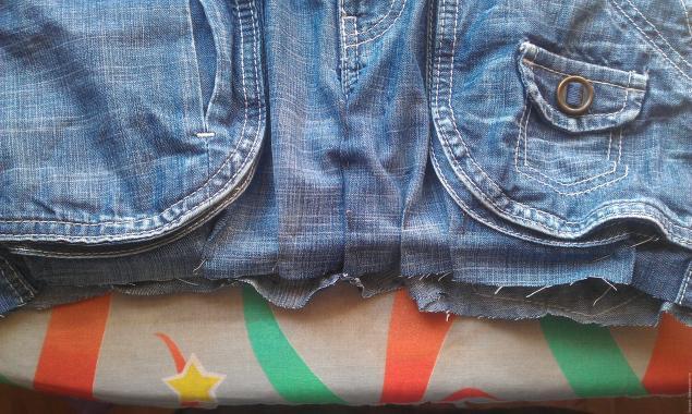 آموزش خیاطی ,  آموزش دوختن کیف از شلوار جین قدیمی