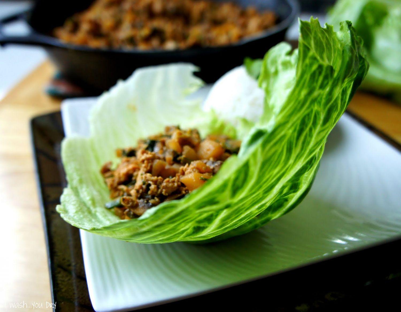 سان چوی بو - غذای چینی - San Choy Bau