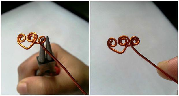 انگشتری به شکل قلب