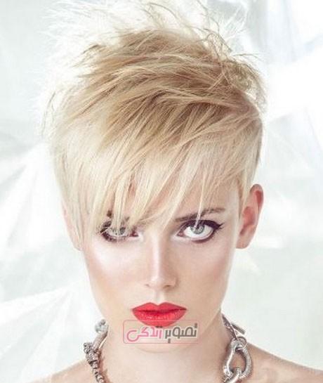 مدل موی جدید - مدل موی کوتاه دخترانه - مدل کوتاهی مو