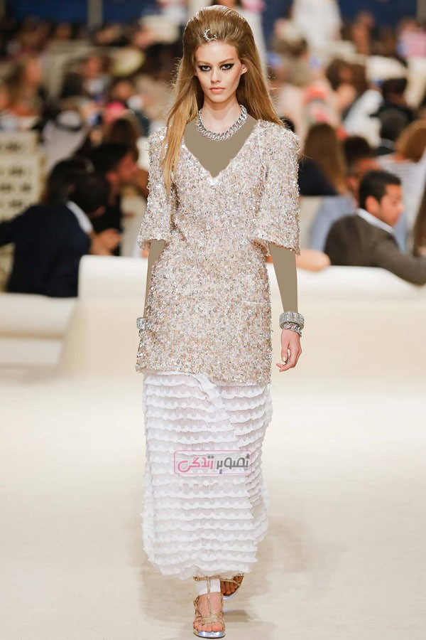 مدل لباس زنانه 2015 برند Chanel - کت و شلوار - کت و دامن - مانتو - تونیک - پیراهن