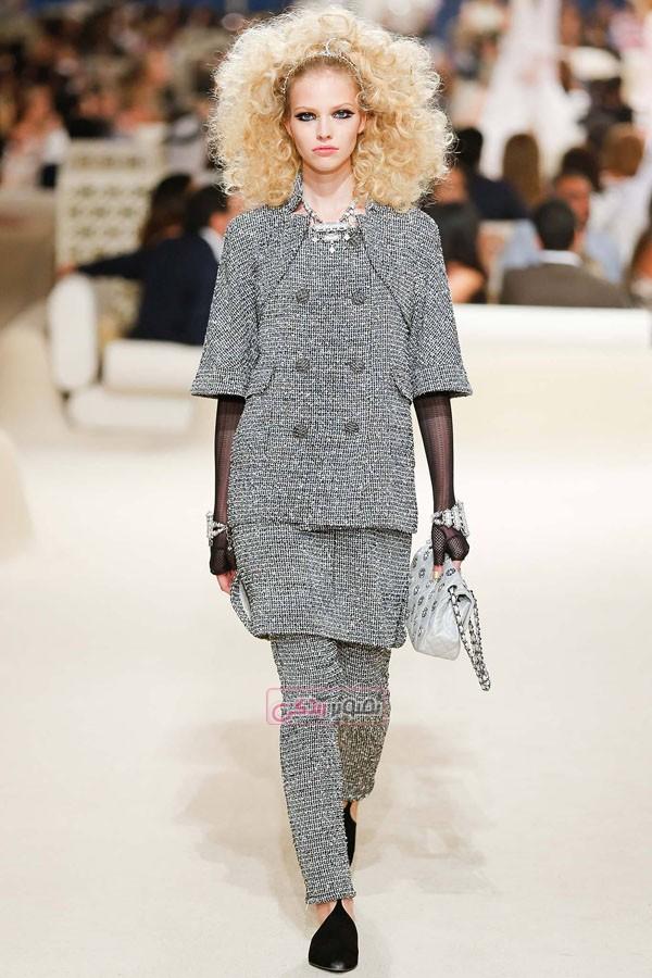مدل لباس زنانه - Chanel - کت و شلوار - کت و دامن - مانتو - تونیک - پیراهن