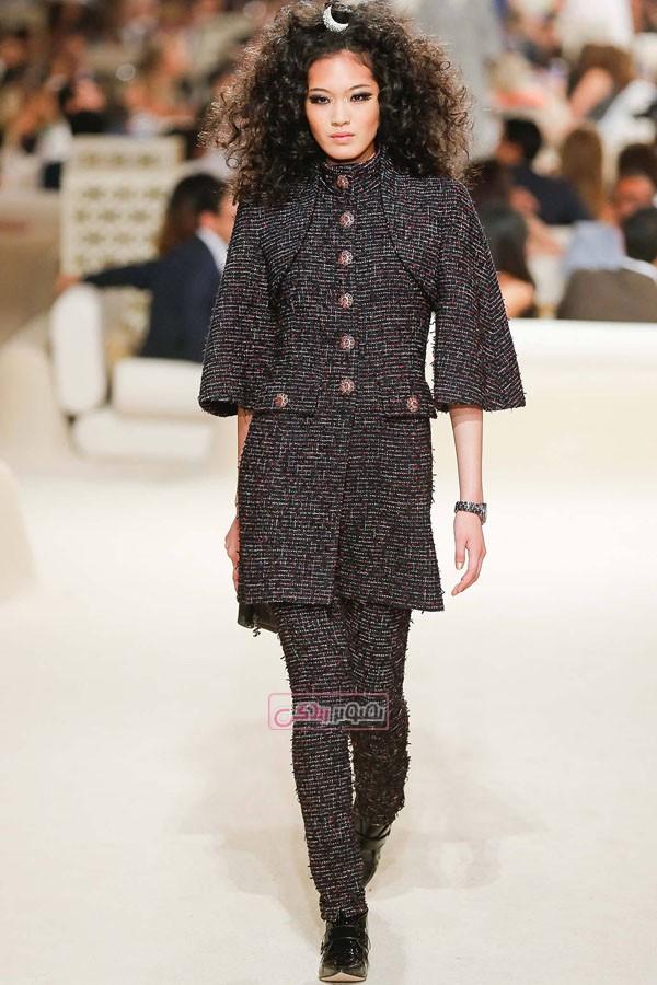 مدل لباس های زنانه - Chanel - کت و شلوار - کت و دامن - مانتو - تونیک - پیراهن