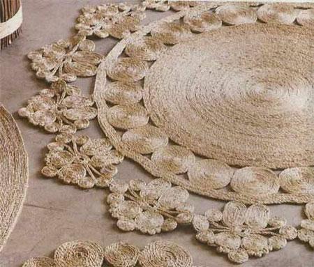 اموزش درست کاسه با بادبادک آموزش ساخت فرش تزیینی با نخ کنفی - مجله تصویر زندگی mimplus.ir