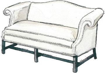 آشنایی با انواع کاناپه و مبل