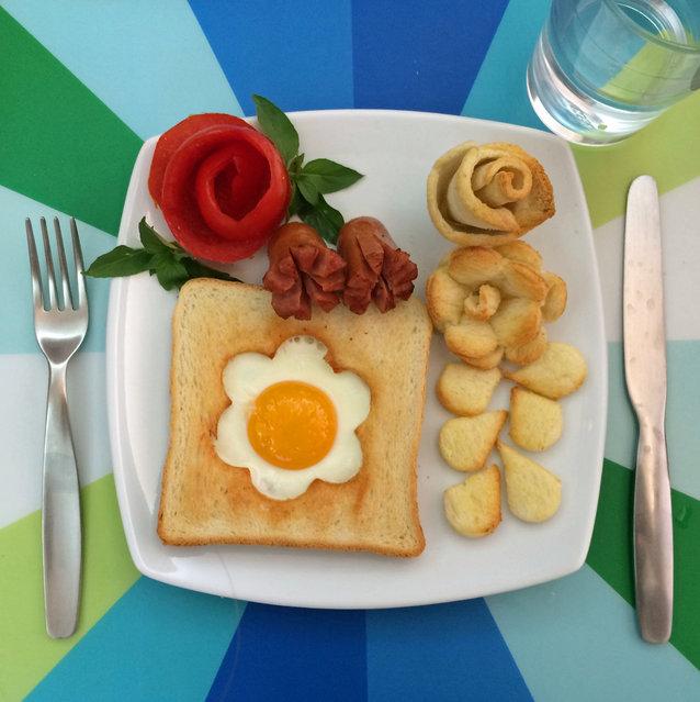 تزیین نیمرو برای صبحانه بچه ها + عکس - مجله تصویر زندگی