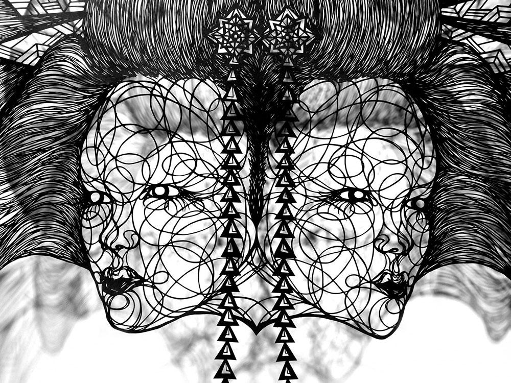 آثار هنری زیبای برش کاغذ - تصویرسازی با کاغذ