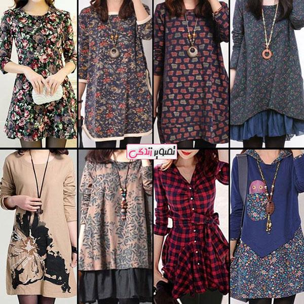 مدل لباس زنانه مدل لباس,کیف,کفش,جواهرات  , انواع مدل تونیک بهاری دخترانه
